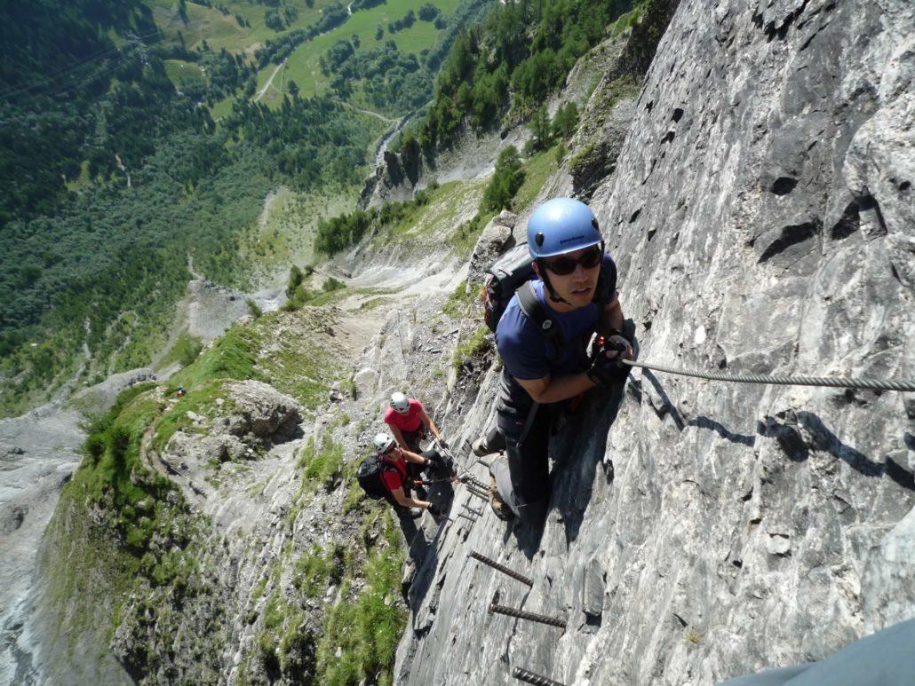 Klettersteig Daubenhorn : Aktivität sommer u2013 hotel paradis